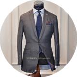 Một bộ suit may đo chuẩn mực